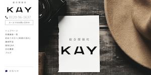 総合探偵社KAYの公式サイト(https://kay-tantei.com/)より引用-みんなの名探偵