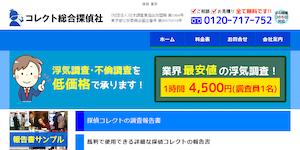 探偵コレクト東京の公式サイト(http://www.collect-i.com/index.html)より引用-みんなの名探偵