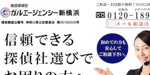 総合探偵社ガルエージェンシー新横浜の公式サイト(https://www.galu.co.jp/)より引用-みんなの名探偵