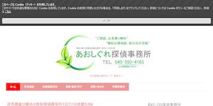 あおしぐれ探偵事務所の公式サイト(http://www.aoshigure.jp/)より引用-みんなの名探偵