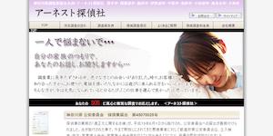 アーネスト探偵社の公式サイト(http://www.earnest-d.com/)より引用-みんなの名探偵