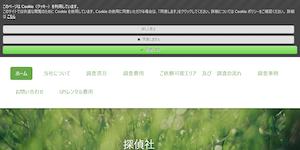 女性探偵社リリーフ岐阜の公式サイト(https://riri-fugifu1213.jimdofree.com/)より引用-みんなの名探偵