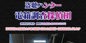 盗聴ハンター電箱調査探偵団の公式サイト(https://toutyou.pro/)より引用-みんなの名探偵