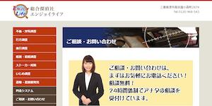 総合探偵社エンジョイライフの公式サイト(http://secret-jp.com/info.html)より引用-みんなの名探偵