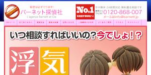バーネット探偵社の公式サイト(http://www.barnett.jp/)より引用-みんなの名探偵
