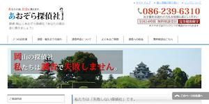 あおぞら探偵社の公式サイト(http://aozora-tanteisya.com/)より引用-みんなの名探偵