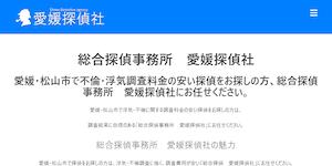 愛媛探偵社の公式サイト(https://www.orca-japan-ehime.biz/)より引用-みんなの名探偵